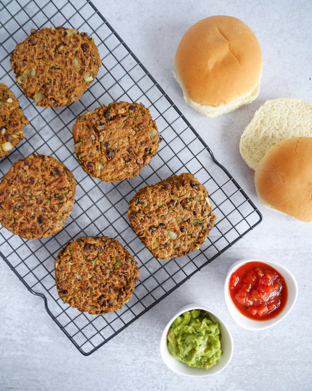 Vegan Black Bean Burgers Recipe