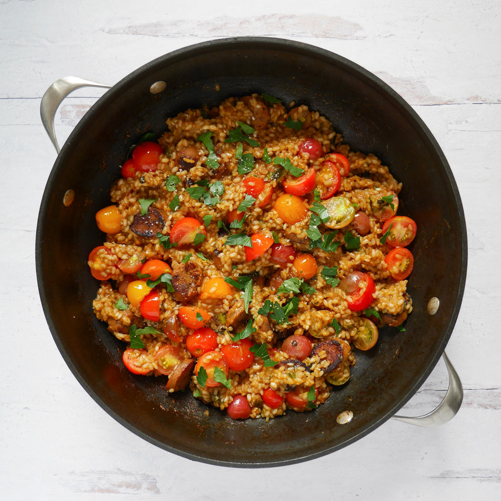 Field Roast Summer Paella Recipe