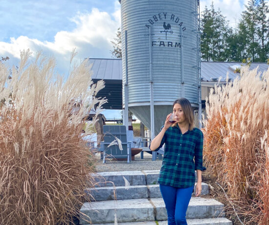 Abbey Road Farm Wine Tasting in Carlton, Oregon