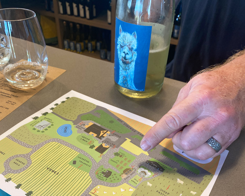 Abbey Road Farm property map