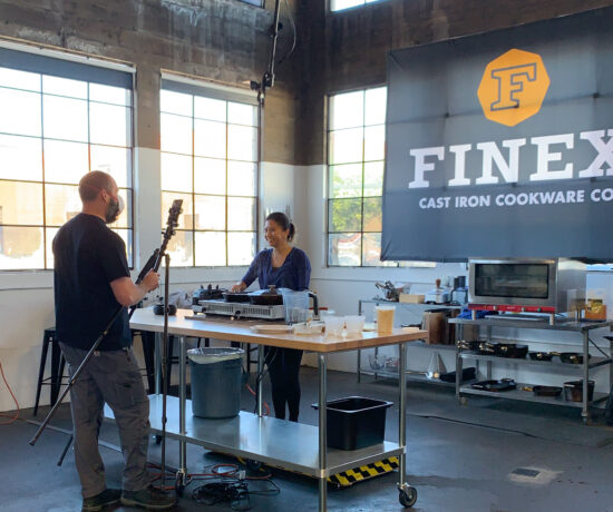 Finex Kitchen Cooking Demo, Portland, Oregon