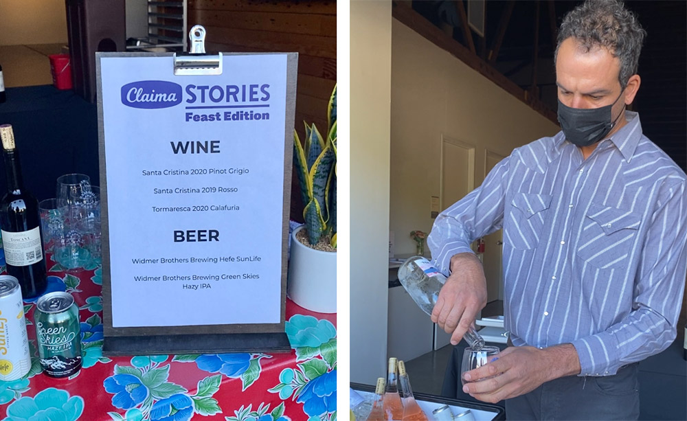 Feast Portland 2021 Claima Stories with Oregon wine and beer